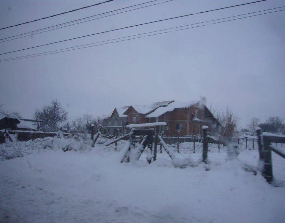 Wintereinbruch bei Iasi